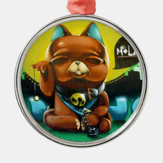 Our Adorable Bear Metal Ornament