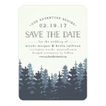 Our Adventure Begins | Save the Date Card