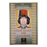 Our Allies the Colonies: Livotopia Poster