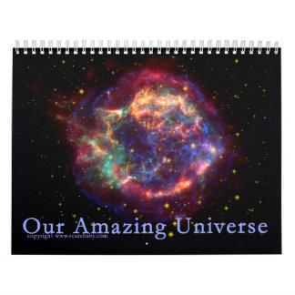 Our Amazing Universe 12 month Calendar