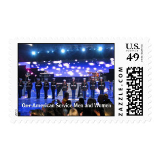 Our American Service Men and Women Postage Stamps