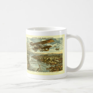 Our Army Attacks from Sky Water and Shore Coffee Mug