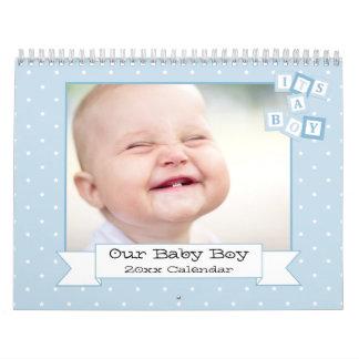 Our Baby Boy Custom Photo Calendar