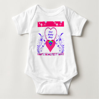 Our Baby Boy Jump Suit-T Shirt