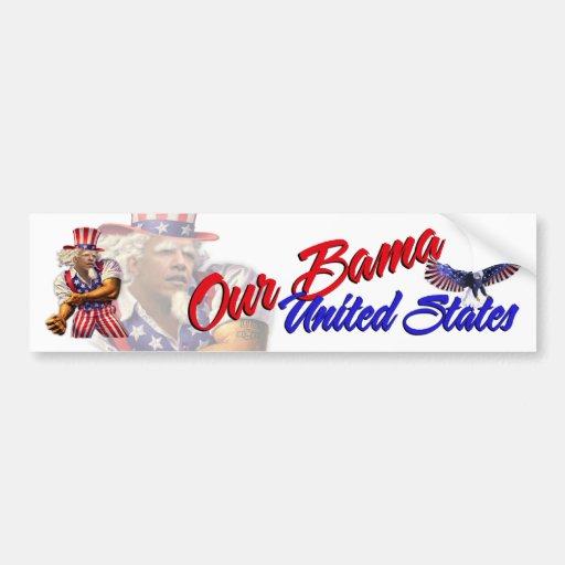 Our Bama, a United States Bumper Sticker
