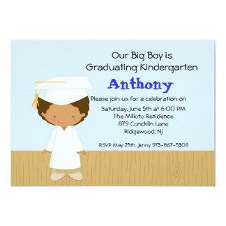 Our Big Boy's  Graduation Invitation