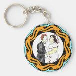 Our Big Wedding Keychain