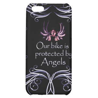 Our Bike is Protected by Angels iPhone 5C Case