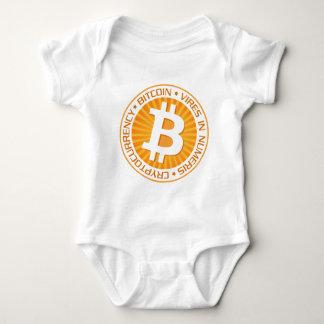 Our Bitcoin Logo Type 02 Baby Bodysuit