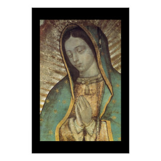 OUR BLESSED MOTHER OF GUADALUPE PRINT