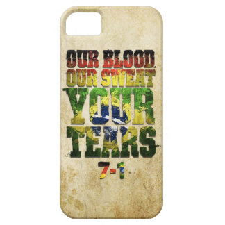 Our Blood, Our Sweat, Your Tears Germany vs Brazil iPhone 5 Case