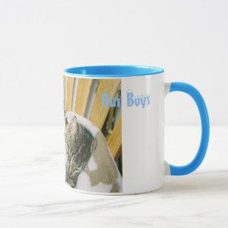 Our Boys, Did dad say catnip? Mug