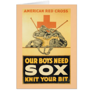 Our Boys Need Sox Greeting Card
