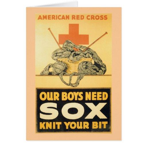 Our Boys Need Sox Card