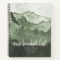 Our Bucket List Couples Adventure Keepsake Journal