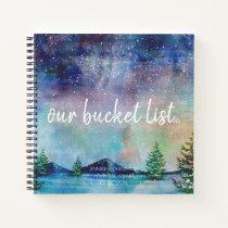 Our Bucket List Couples Keepsake Journal