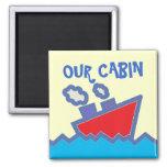Our Cabin Stateroom  Door Marker Magnet