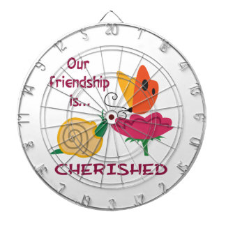 OUR CHERISHED FRIENDSHIP DARTBOARD