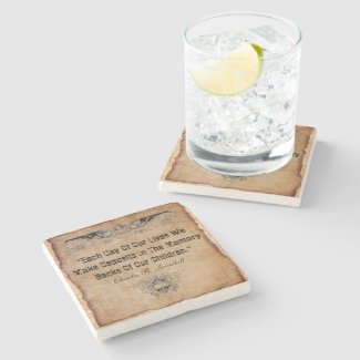 Our Children Stone Coaster