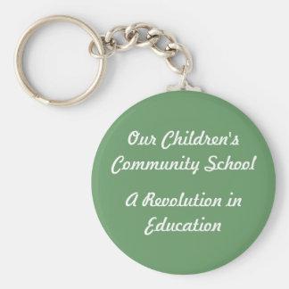 Our Children's Community School Keychain