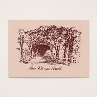 Our Chosen Path Save The Date Cards