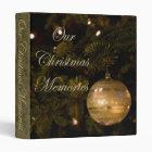 Our Christmas Memories Album Binder