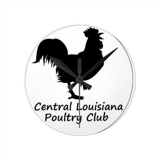 Our Club Logo Round Wallclock