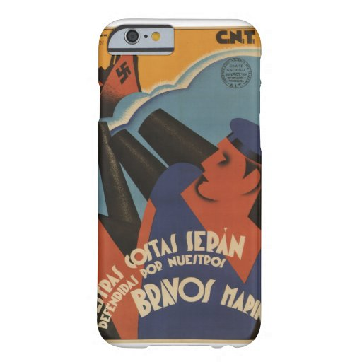 Our coast will be defended_Propaganda Poster Barely There iPhone 6 Case