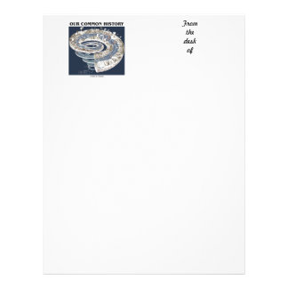 Our Common History (Earth History Timeline Spiral) Letterhead