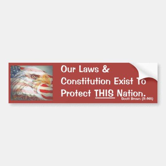OUR Constitution Bumper Sticker