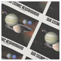 Our Cosmic Neighborhood Solar System Astronomy Fabric