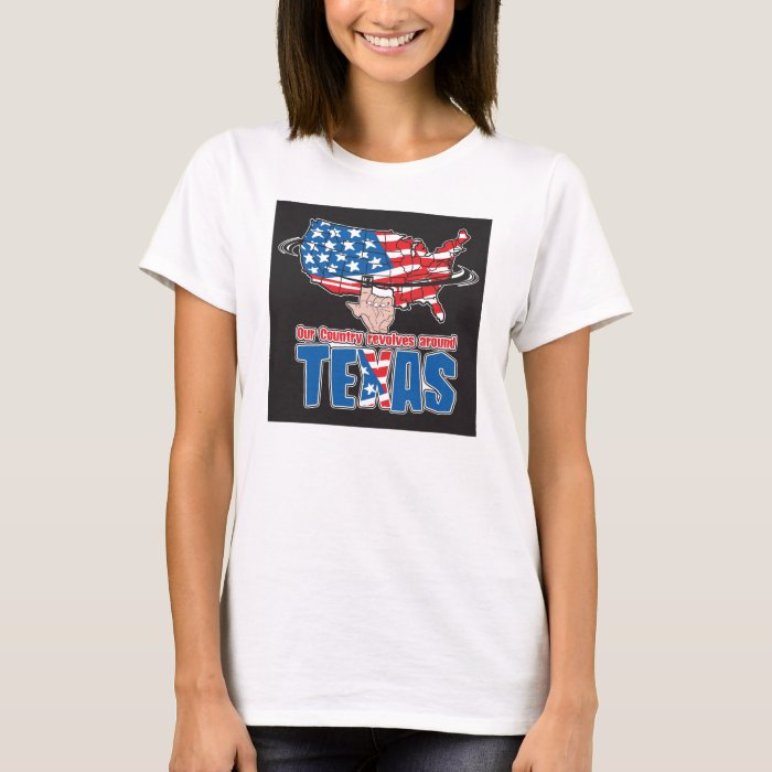 Our Country revolves around Texas Women's Tank Top