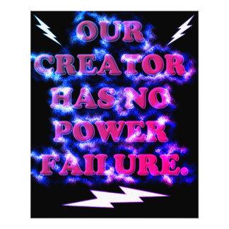 Our Creator Has No Power Failure. Photo Print