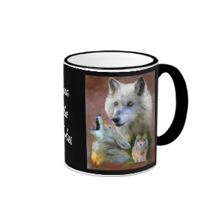 Our Cry (Wolf) Collectible Art Coffee Mug