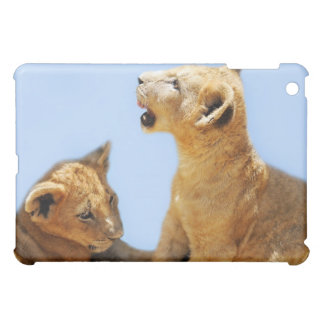 Our cute lion faces iPad mini cover
