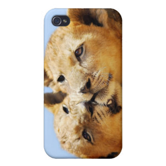 Our cute lion faces iPhone 4 case