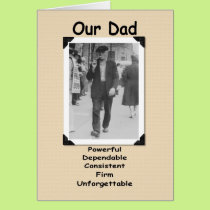 Our Dad - the Old Fart Card