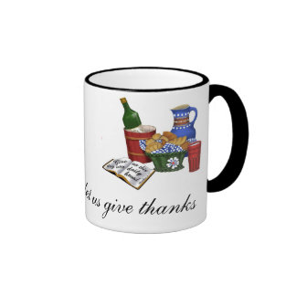 Our daily bread  Matthew 6:11 Ringer Mug