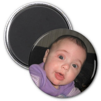 Our daughter 2 inch round magnet