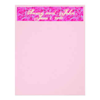 """""""Our Day"""" Personalized Letterhead"""