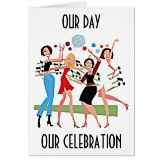 """""""OUR DAY OUR CELEBRATION"""" MY PARTNER IN LIFE CARD"""