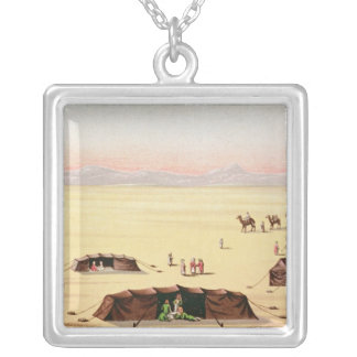 Our Desert Camp Silver Plated Necklace