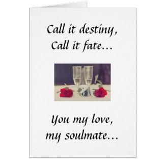 OUR DESTINY!!! CARD