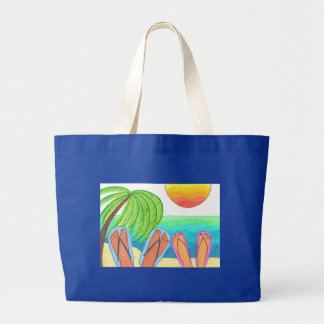 Our Dream Vacation Jumbo Tote Bag