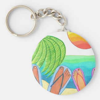 Our Dream Vacation Keychain