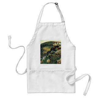 Our English Coast (Stray Sheep) By Hunt William Adult Apron