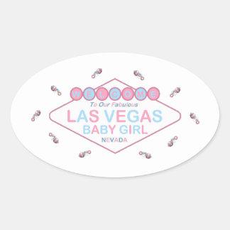 Our Fabulous Las Vegas Baby Girl Sticker