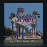 """Our Fabulous Las Vegas Wedding Album 3 Ring Binder<br><div class=""""desc"""">Our Fabulous Las Vegas Wedding Album. Las Vegas Sign has had a makeover and is looking better then ever... </div>"""