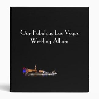 Our Fabulous Las Vegas Wedding Album 3 Ring Binders