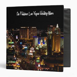 Our Fabulous Las Vegas Wedding Album Binder
